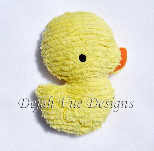 Rubber Duck Stuffie