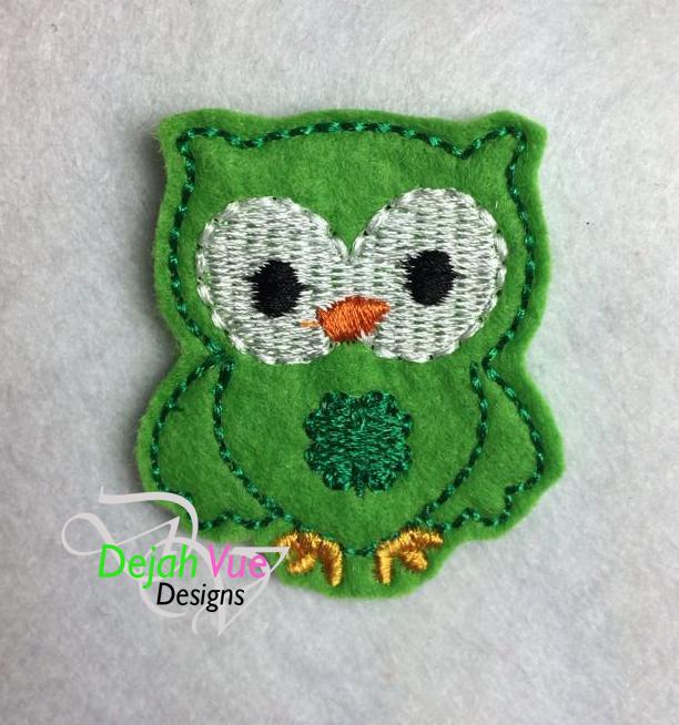 March Owl Feltie