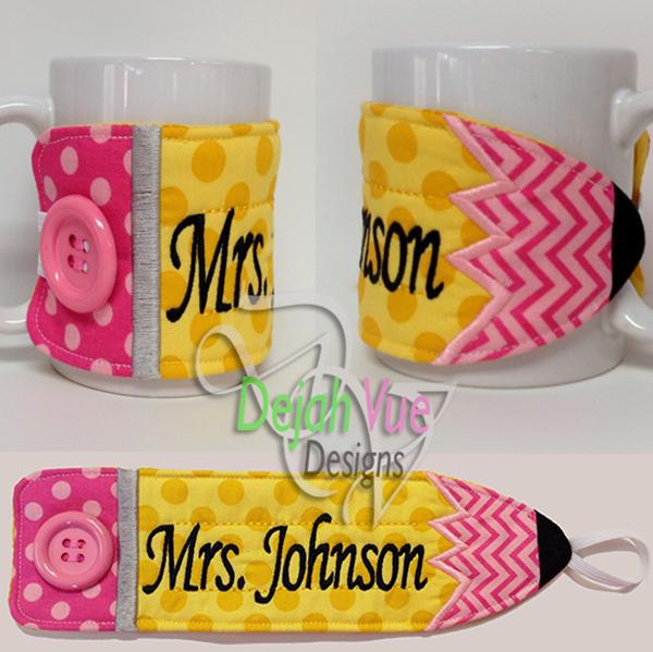 ITH Pencil Mug Wrap