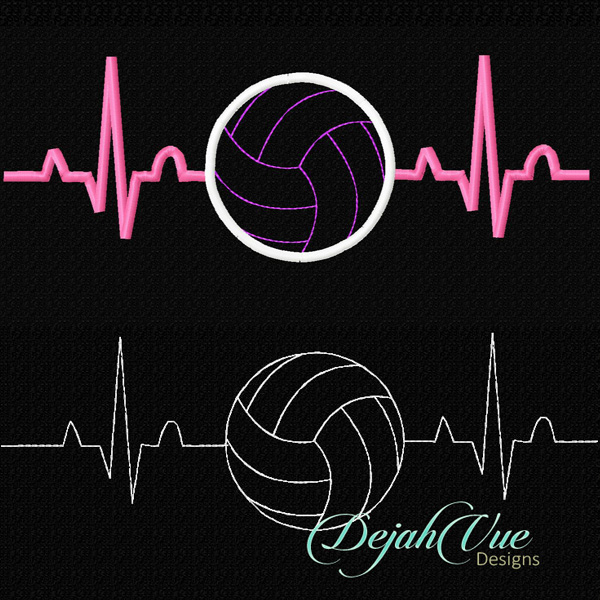 Cool volleyball designs